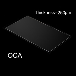 OCA Optical Clear Adhesive Double-side Sticker for iPhone 5s LCD Digitizer, Thickness: 0.25mm