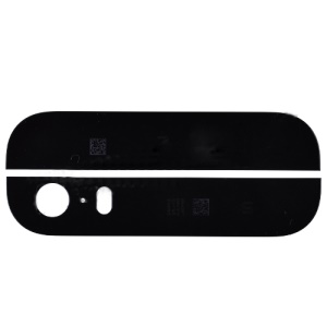 Black Top & Bottom Glass Cover Replacement Parts for iPhone 5s