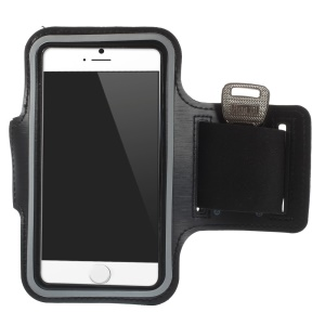 Sports Gym Bike Cycle Jogging Armband Case for iPhone 6 4.7 inch - Black