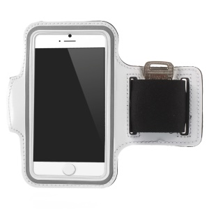Gym Running Jogging Sport Armband Cover for iPhone 6 4.7 inch - White