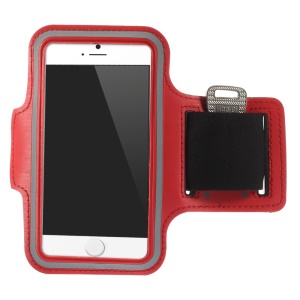 Running Jogging Sporty Workout Armband Case for iPhone 6 4.7 inch - Red