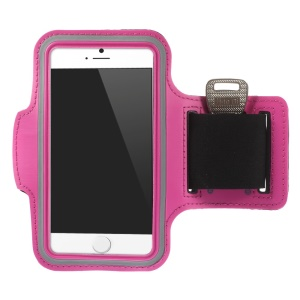 Running Jogging Sporty Gym Armband Pouch for iPhone 6 4.7 inch - Rose