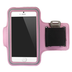 Running Jogging Workout Pouch Armband Case for iPhone 6 4.7 inch - Pink