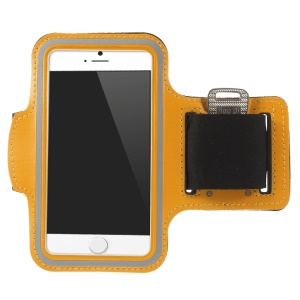 Gym Cycle Jogging Armband Cover Case for iPhone 6 4.7 inch - Orange