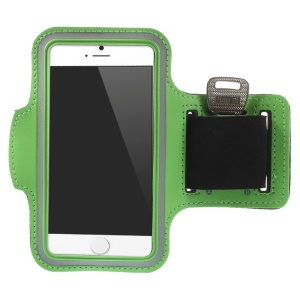 Gym Running Jogging Sports Armband Case for iPhone 6 4.7 inch - Green