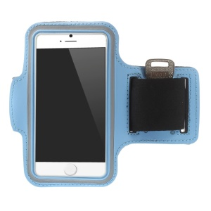 Gym Outdoor Sports Armband Arm Case for iPhone 6 4.7 inch - Light Blue