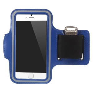 Gym Sports Workout Armband Arm Cover for iPhone 6 4.7 inch - Deep Blue