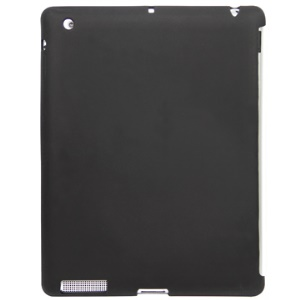 Soft & Flexible Silicone Case for Apple iPad 2 3 4 (That Works with Smart Cover)