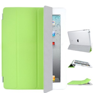 Miraculous Leather Smart Cover for iPad 2 - Green