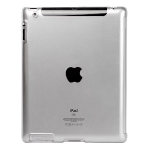 Crystal Hard Case Cover for Apple iPad 2 (That Works with Smart Cover)