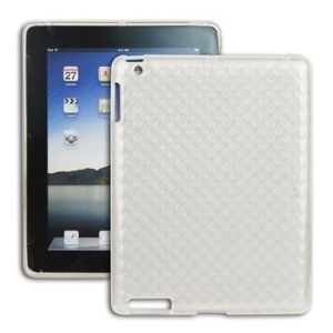 Unique Cube Check Pattern TPU Cover Case for Apple iPad 2nd 3rd 4th Generation