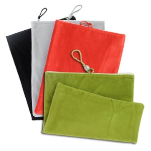 Popular Soft Drawstring Pouch for iPad 2 iPad 3rd Generation The New iPad