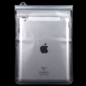 Transparent Waterproof Bag Pouch Case for Apple iPad / iPad 2 (Size: 268 x 200 mm)