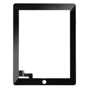 Touch Screen Panel Digitizer Spare Part for iPad 2 - Black