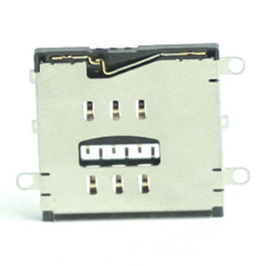 SIM Card Slot Connector Holder Replacement for iPad 2 WiFi + 3G (OEM)