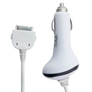 2.1A Auto Vehicle Car Charger for The New iPad 3rd Gen iPad 2 iPad