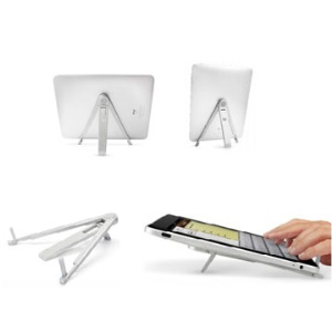 Folding Metal Holder Stand for iPad1, iPad2, Samsung Galaxy Tab P1000, 7-10 inch MID, Tablet PC