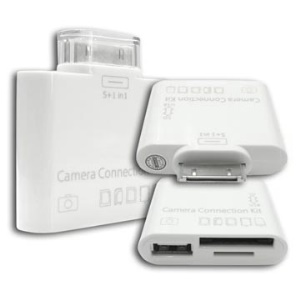 5 in 1 Camera Connection Kit USB SD TF Card Reader for iPad