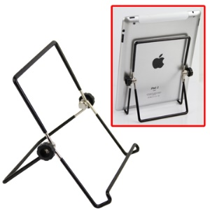 Foldable Metal Holder Stand for Apple iPad, iPad 2, Ideapad, 7Inch Tablet PCs