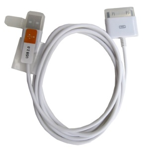 USB 2.0 Sync Data Charging Cable for The New iPad iPhone 4S 4 3GS 3G 2G iPod