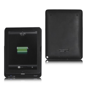 Large Capacity 4000mAh Power Station Battery Pack Charger Case for New iPad and iPad 2