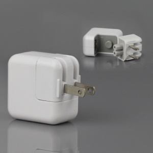 10W USB Power Adapter for The New iPad / iPad 2 / iPhone 4S 4 3GS 3G iPod Touch 4 - US Plug
