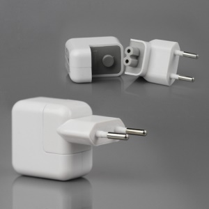 10W USB Power Adapter for The New iPad / iPad 2 iPhone 4S 4 3GS 3G iPod Touch 4 - EU Plug
