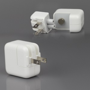 Original Material Apple 10W USB Power Adapter Charger A1357 for iPad/iPhone/iPod - US Plug