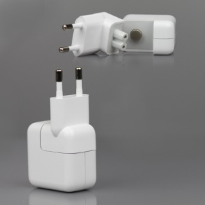 Original Material Apple iPad/iPhone/iPod 10W USB Power Adapter Charger A1357 - Euro Plug