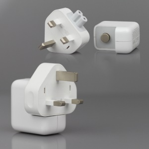 Original Material Apple iPad/iPhone/iPod 10W USB Power Adapter A1357 Charger - UK Plug