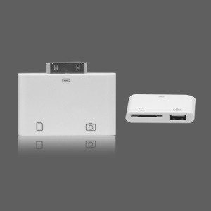 2 in 1 USB SD Card Reader Camera Connection Kit for Apple iPad 2 iPad