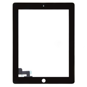 Black For iPad 2 Touch Screen Digitizer Repair Part (High Quality)