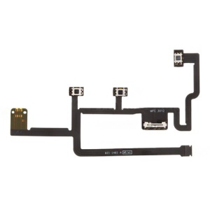 Power Volume Button Key Flex Cable Ribbon Replacement for iPad 2 2nd CDMA