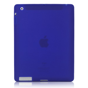 Soft Silicone Cover Case for New iPad 2nd 3rd 4th Generation - Blue