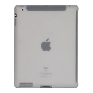 Naked Smart Cover Companion Silicone Case for New iPad 2nd 3rd 4th Gen - Transparent