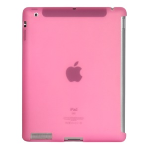 Naked Smart Cover Companion Silicone Case for New iPad 2nd 3rd 4th Gen - Pink
