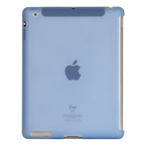 Naked Smart Cover Companion Silicone Case for New iPad 2nd 3rd 4th Gen - Baby Blue