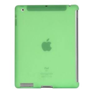 Naked Smart Cover Companion Silicone Case for New iPad 2nd 3rd 4th Gen - Green