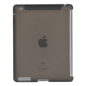 Naked Smart Cover Companion Silicone Case for New iPad 2nd 3rd 4th Gen - Grey