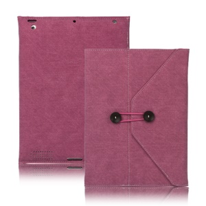 Jeans Cool Style Leather Case Handbag for New iPad 3rd 2nd 4th Generation - Rose