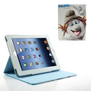 The Smurfs 2 Hackus Leather Sand Case for iPad 2 / The New iPad / iPad 4