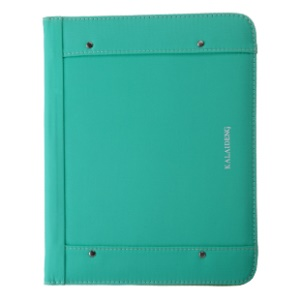 KLD Me Series for iPad 2 3 4 Leather Card Slot Case Stand w/ Smart Awakening - Green