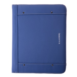 KLD Me Series for iPad 2 3 4 Leather Card Slot Stand Cover w/ Smart Awakening - Blue