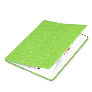 Takefans for iPad 2 3 4 Brilliant Fashion Stand Leather Smart Cover - Green