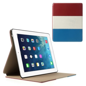 France National Flag Smart Leather Stand Cover for iPad 4 3 2