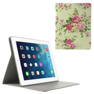 Vivid Flowers Smart Leather Case w/ Stand for iPad 2 3 4