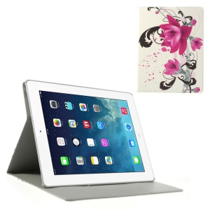 Elegant Lotus Smart Leather Case w/ Stand for iPad 2 3 4