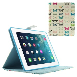 Pretty Butterflies Protective Smart Leather Cover w/ Stand for iPad 2 3 4