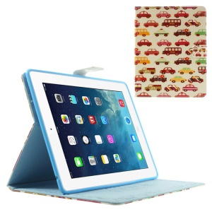 Cars & Buses Protective Smart Leather Tablet Case for iPad 2 3 4 w/ Stand