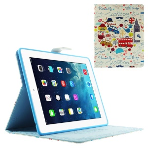 London Elements Smart Leather Protector Case w/ Stand for iPad 2 3 4